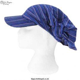 Blue-Striped-Headband-Cap