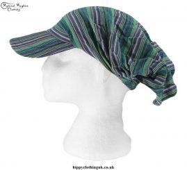 Green-Striped-Headband-Cap