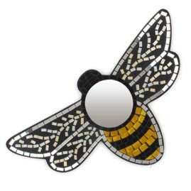 Mosaic-Bee-Mirror