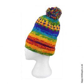 Rainbow-Wool-Fleece-Lined-Patterned-Bobble-Hat
