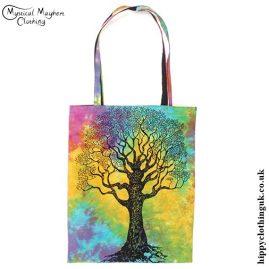 Cotton Tree Hippy Shopping Tote Bag