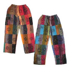 Top 5 Hippy Winter Warmers - Fleece Lined Trousers