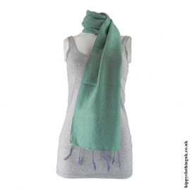 Mint-Green-Acrylic-Scarf
