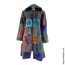 Multicoloured-Long-Patchwork-Jacket