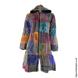 Multicoloured-Long-Patchwork-Jacket