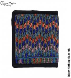 Multicoloured-Recycled-Huipil-Wallet