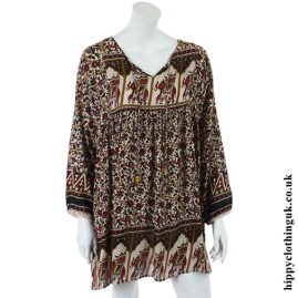 Floaty Indian Elephant Tunic