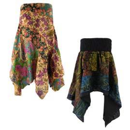 Pixie Hem Skirts