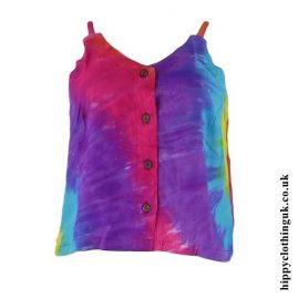 Rainbow-Tie-Dye-Rayon-Hippy-Crop-Top