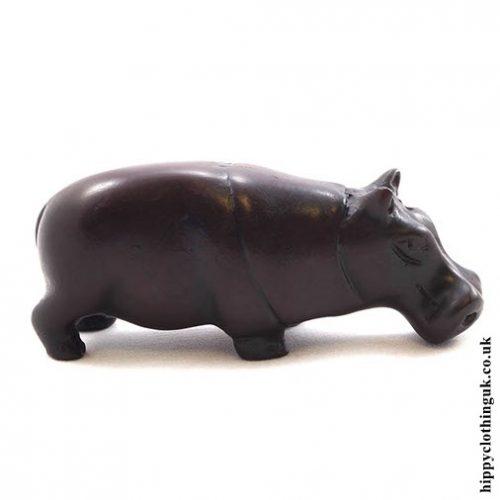 Resin Hippopotamus - Side