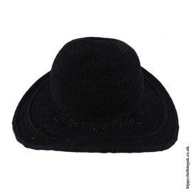 Black-Crochet-Hippy-Sun-Hat