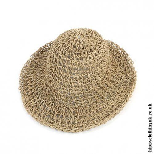 Natural Alang Alang Sun Hat
