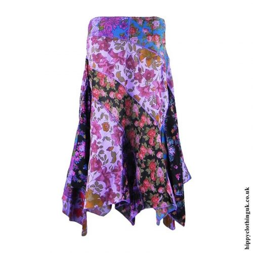 Purple-Floral-Hippy-Pixie-Skirt