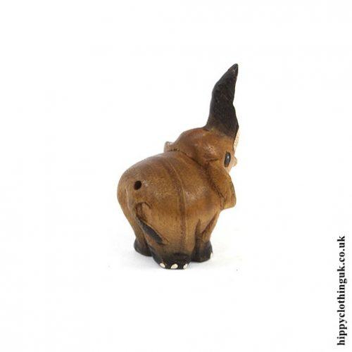 Tiny Squeaking Elephant - Rear Angle