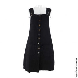 Black-Cotton-Dungaree-Style-Dress