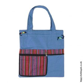 Blue-Fold-Out-Shopping-Bag