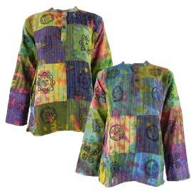 Gringo Tie Dye Grandad Shirts