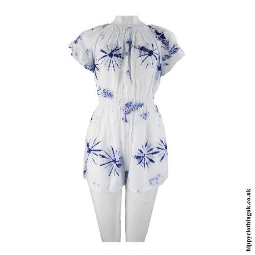 White-&-Blue-Tie-Dye-Play-Suit