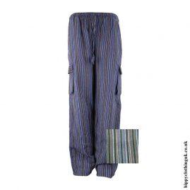 Black-Colour-Mix-Striped-Cotton-Hippy-Trousers