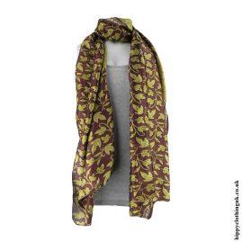 Deep-Burgundy-Recycled-Sari-Scarf