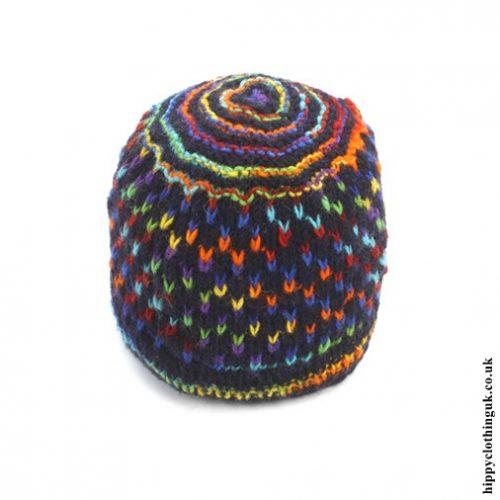 Multifleck Wool Fleece Lined Hat.