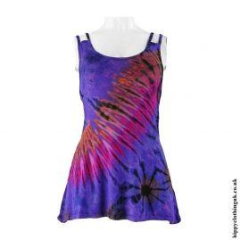 Purple-Multicoloured-Tie-Dye-Multi-Strap-Vest