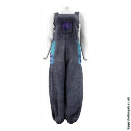 Blue-Hippy-Dungarees-with-Flower-Embroidery