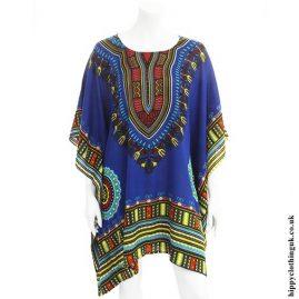 Blue Short Dashiki Kaftan1