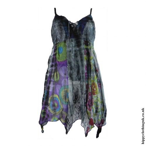 Charcoal-Cotton-Pointed-Pixie-Hippy-Blouse-Top-