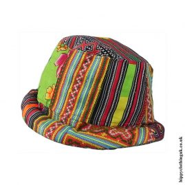 Colourful-Tribal-Hippy-Rim-Hat
