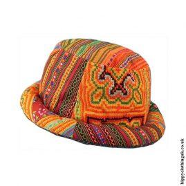 Colourful-Tribal-Hippy-Rim-Hat