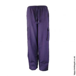 Purple-Plain-Cotton-Nepalese-Hippy-Trousers