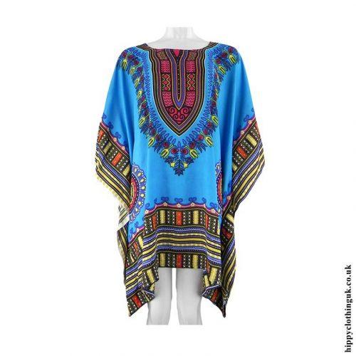 Turquoise-Short-Dashiki-Kaftan