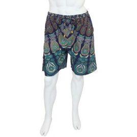 Blue-Male-Throw-Shorts