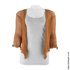 Brown-Bali-Knit-Shrug