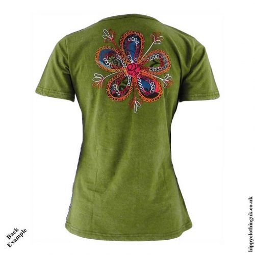 Embroidery-Patchwork-Hippy-T-Shirt-Back-Example
