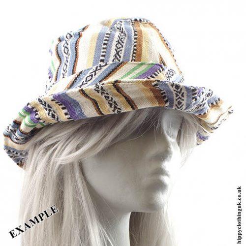 Gheri Cotton Hat Example Rolled Brim 1