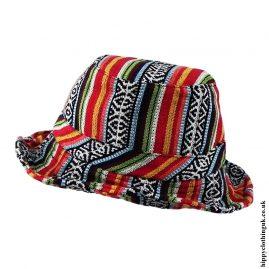Multicoloured Gheri Cotton Sun Hats