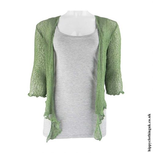 Green-Bali-Knit-Shrug