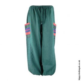Green-Gheri-Pocket-Trousers