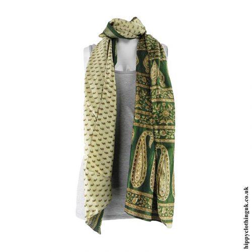 Green-Recycled-Sari-Scarf