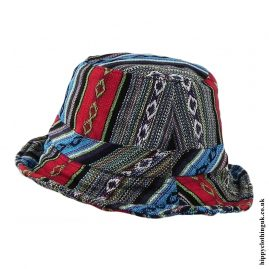 Multicoloured Gheri Cotton Sun Hats