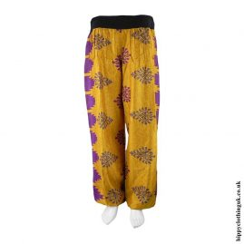 Orange-Recycled-Sari-Hippy-Trousers