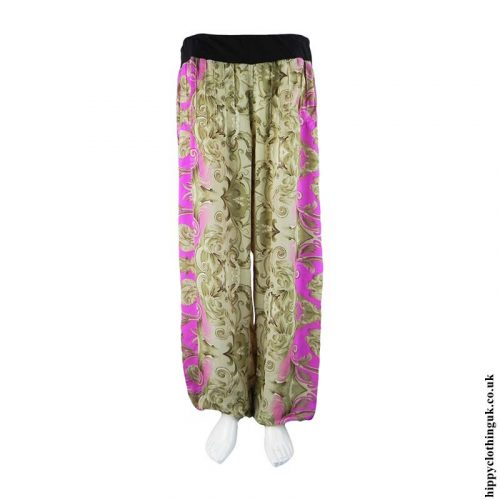 Pink-&-Beige-Recycled-Sari-Hippy-Trousers