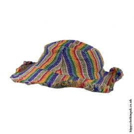 Rainbow-Stripe-Hemp-Hippy-Hat