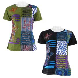 Short Sleeve Embroidery T-Shirts