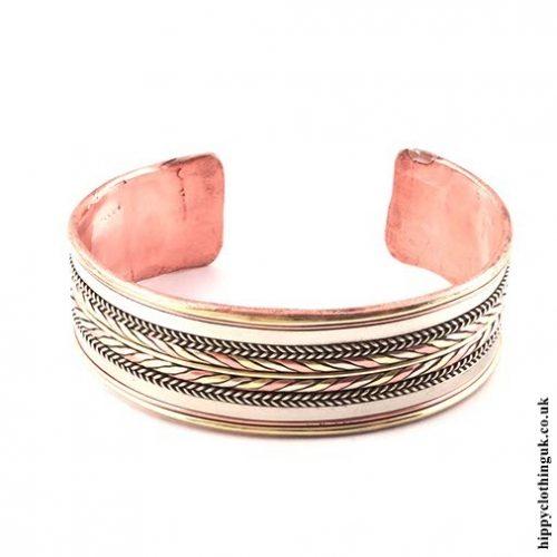 Banded Copper Bracelet