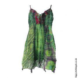 Green-Cotton-Pointed-Pixie-Hippy-Blouse-Top