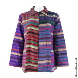Multicoloured-Lightweight-Acrylic-Wool-Jacket