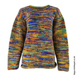 Multicoloured-Tie-Dye-Hippy-Wool-Jumper